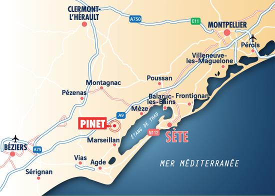 Pinet - Coeur de village