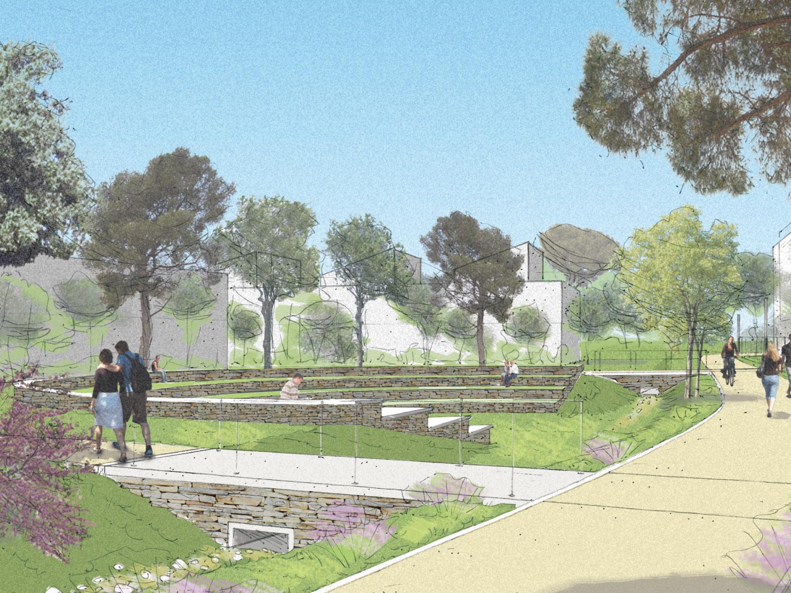 Les Jardins d'Hélios, un nouveau concept architectural